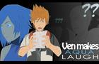 Ven Makes Aqua Laugh