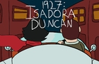 1927: Isadora Duncan