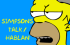 Simpsons Speak / Hablan