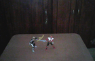 the toy power ranger figh