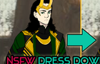 NSFW Dress Down Loki Game