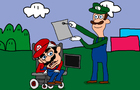 Handicapped Mario Does Th