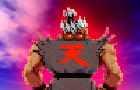 Akuma vs. Mortal Kombat