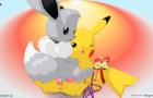 Pikachu Herm - Eevee Male