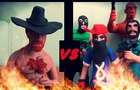 Chuck Norris vs bandits