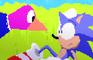 SSB4: Duck Hunt vs. Sonic