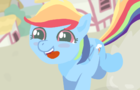 Rainbow Dash <3 Ice Cream