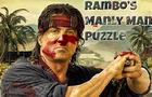Rambo's Manly Man Puzzle