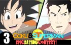 Goku Vs Superman: Eating