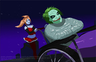 Harley Quinn and the Joke