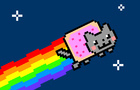 Nyan Cat Asteroid Shooter
