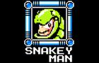 snakey man