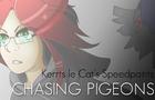 Speedpaint:ChasingPigeons