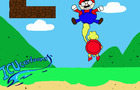 Mario gets nut punched