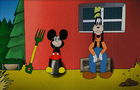Mickey Kills Goofy