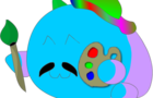 A drawing poro drawing a