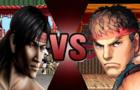 Liu Kang vs Ryu sprite an