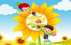 Coloring Children Jigsaw