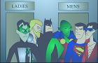 JLA (bathroom break)
