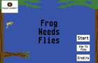 Frog Needs Flies