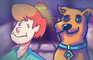 Scooby Doo in FNAF 2
