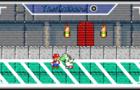 Mario and Yoshi dance