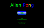 Alien Pong