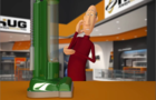 Captain Picard inspects a vacuum