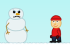 Raging Snowman