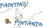 PAINTING. // PINTANDO.
