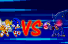 Sonic and Tails Vs. Metal Sonic
