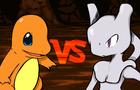 Charmander vs. Mewtwo!