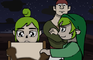Zelda: Link shoots to impress