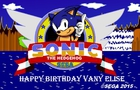 Happy Birthday Vany Elise