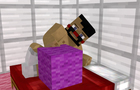 Larry the Magenta Wool Block