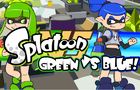 Splatoon Green Vs Blue by NCH
