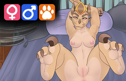 Furry porn game