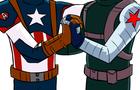 OMG l33k3d F00t@ge of Captain America 3