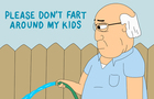 Please Don't Fart Around My Kids