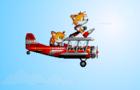 Tails' plane