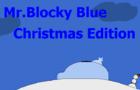 Mr.Block Blue Christmas Edition