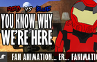 Red vs Blue fan animation