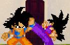 Goku vs Gohan Training