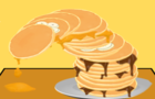 Messy Pancake Tower!