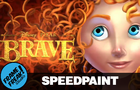 Merida - Brave - Speedpaint