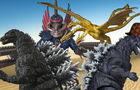 Godzilla Stop Motion Parody Cartoons