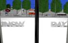 Expectation vs Reality: Snow Day