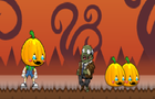 Pumkins In Zombie Town