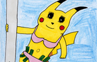 Stripper pikachu speed drawing