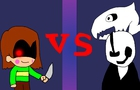 W.D.Gaster vs Chara (Undertale short animation)
